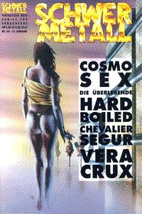 Schwermetall, Band 154, Die Überlebende, Cosmo Sex, Zeit der Asche, . . .