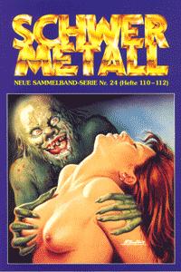 Schwermetall - Sammelband, Band 24, Die weisse Indianerin, Sandra  Bodyshelly,  . . .