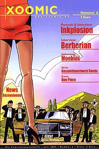 XOOMIC, Band 6, Comicfachzeitschrift