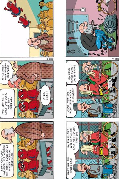Leseprobe 5 von KINKY & COSY, Einzelband -