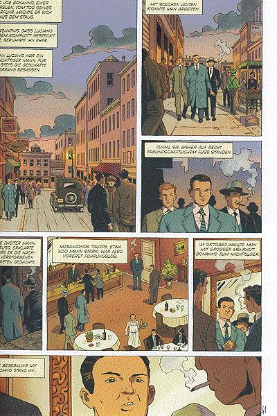 Leseprobe von Cosa Nostra, Band 4 - Die Hetzjagd