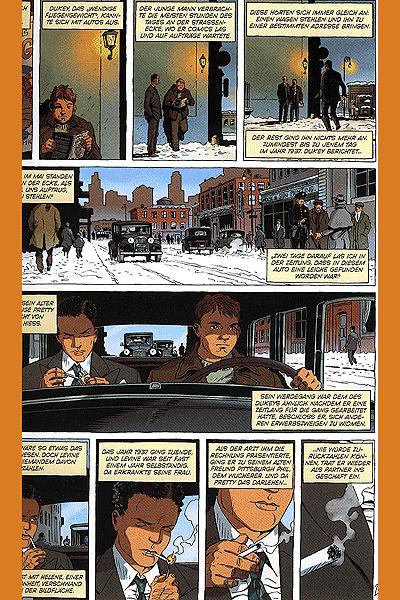 Leseprobe 1 von Cosa Nostra, Band 5 - Murder Inc.