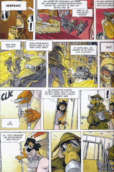 Leseprobe 1 von Ein Affe am Himmel, Band 1 - Wakanda