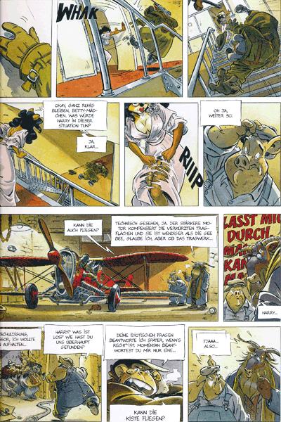 Leseprobe 2 von Ein Affe am Himmel, Band 1 - Wakanda