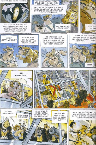 Leseprobe 3 von Ein Affe am Himmel, Band 1 - Wakanda
