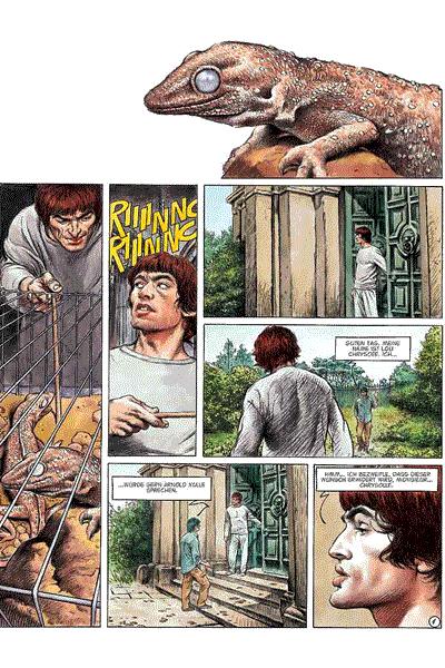 Leseprobe 1 von Lou Chrysoes Abenteuer: Kaltes Licht, Band 1 - Eva