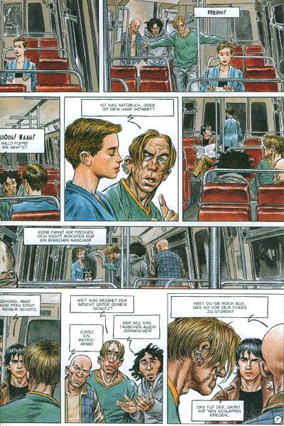 Leseprobe 2 von Lou Chrysoes Abenteuer: Kaltes Licht, Band 1 - Eva