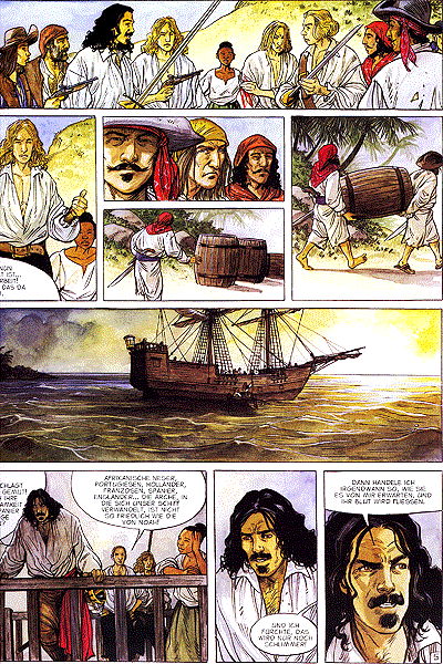 Leseprobe von Piraten, Band 3 - Strandräuber