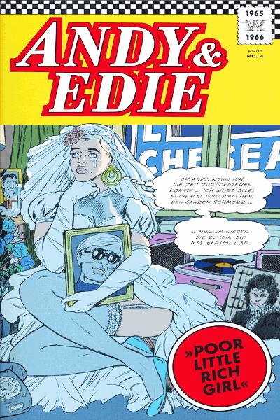 Leseprobe 1 von Andy – A Factual Fairytale, ein sachliches Märchen, Einzelband - Leben und Werk von Andy Warhol
