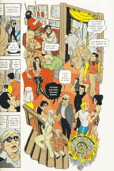 Leseprobe 4 von Andy – A Factual Fairytale, ein sachliches Märchen, Einzelband - Leben und Werk von Andy Warhol