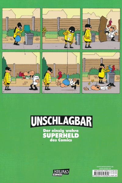 Leseprobe 1 von Unschlagbar, Imbattable, Band 2 - Mein Nachbar, der Superheld