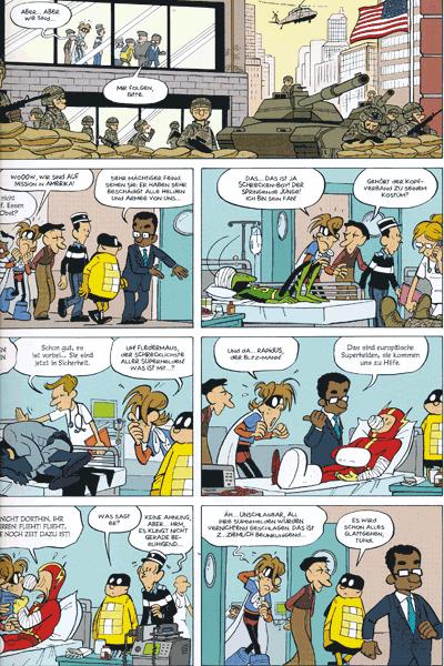 Leseprobe 2 von Unschlagbar, Imbattable, Band 2 - Mein Nachbar, der Superheld