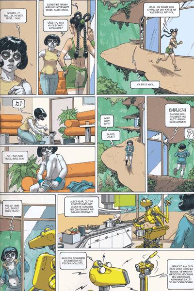Leseprobe 2 von Sillage [comic] [nävis] [weweh], Band 19 - Auszeit