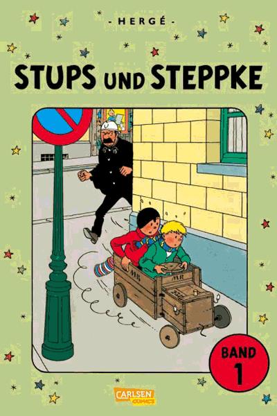 Leseprobe 1 von Stups und Steppke, Band 1 + 2 im Schuber - Freche Kindercomics von Hergé