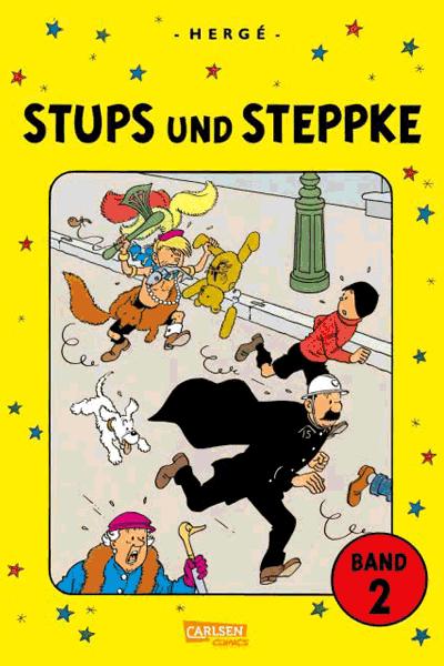 Leseprobe 2 von Stups und Steppke, Band 1 + 2 im Schuber - Freche Kindercomics von Hergé
