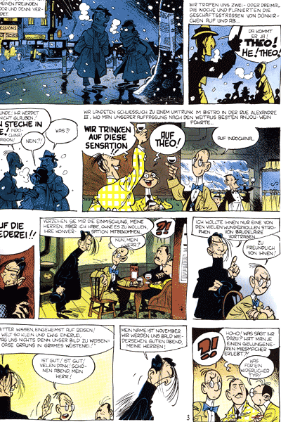 Leseprobe von Theodor Pussel, Band 1 - Das Geheimnis des Kapit�n Stien