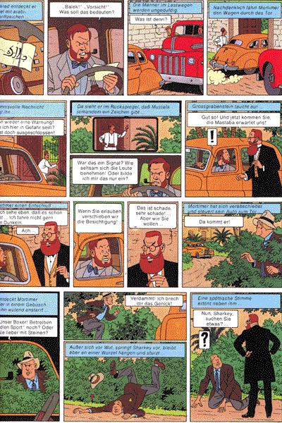 Leseprobe von Die Abenteuer von Blake und Mortimer, Band 2 - Das Geheimnis der Grossen Pyramide - Die Kammer des Horus