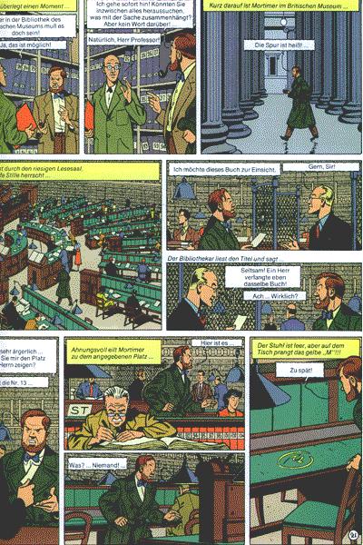Die Abenteuer von Blake und Mortimer, Band 3 - Das gelbe M