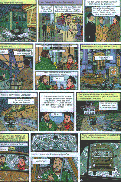 Die Abenteuer von Blake und Mortimer, Band 4 - SOS Meteore