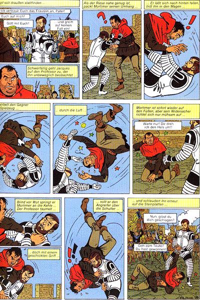 Leseprobe von Die Abenteuer von Blake und Mortimer, Band 6 - Die teuflische Falle
