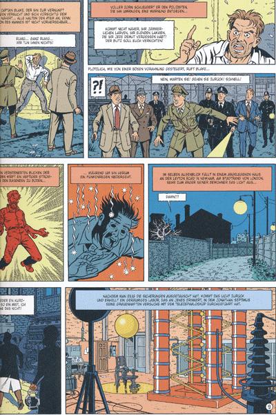 Leseprobe 1 von Die Abenteuer von Blake und Mortimer, Band 19 - Die Septimus-Welle