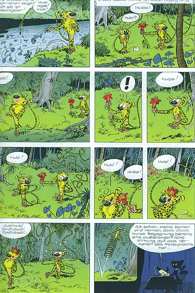 Leseprobe von Spirou und Fantasio, Band 10 - Das Nest im Urwald