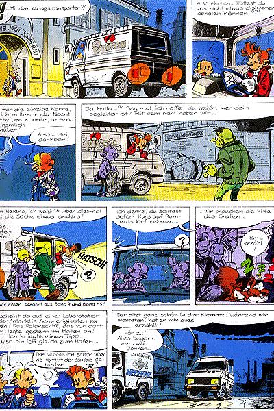 Leseprobe von Spirou und Fantasio, Band 31 - Das geheimnisvolle Virus