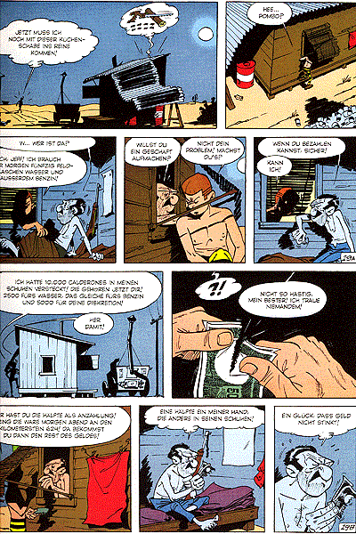 Leseprobe 2 von Jeff Jordan [comics] [gesamtausgabe], Schuber - 16 Fälle für Privatdetektiv Jeff Jordan