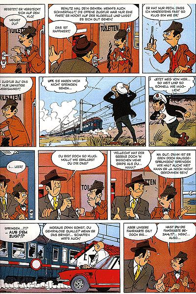 Leseprobe 4 von Jeff Jordan [comics] [gesamtausgabe], Schuber - 16 Fälle für Privatdetektiv Jeff Jordan