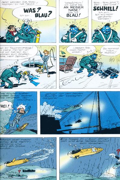 Leseprobe 2 von Spirou & Fantasio Gesamtausgabe, Band 4 - Moderne Abenteuer
