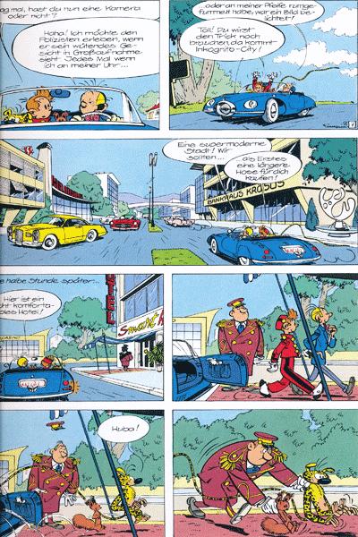 Leseprobe 3 von Spirou & Fantasio Gesamtausgabe, Band 4 - Moderne Abenteuer