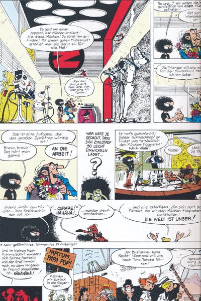 Leseprobe 1 von Spirou & Fantasio Gesamtausgabe, Band 10 -