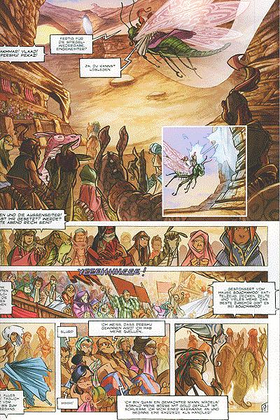 Leseprobe von Die Legenden von Troy, Band 1 - Tykko der W�stensohn