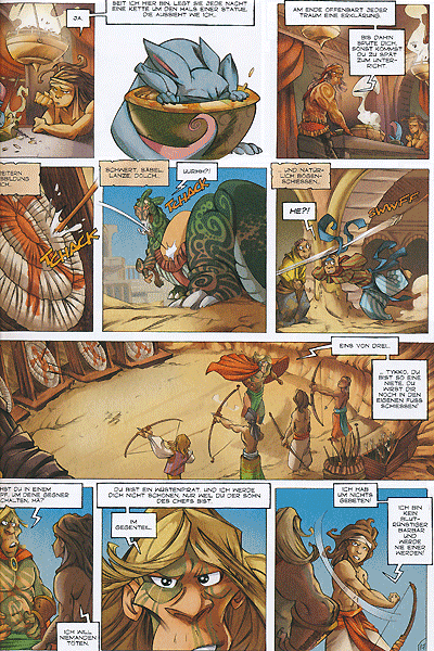 Leseprobe von Die Legenden von Troy, Band 2 - Tykko, der W�stensohn - Die versunkene Stadt