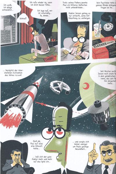 Leseprobe 1 von Das Imperium des Atoms [comicroman], Einzelband -