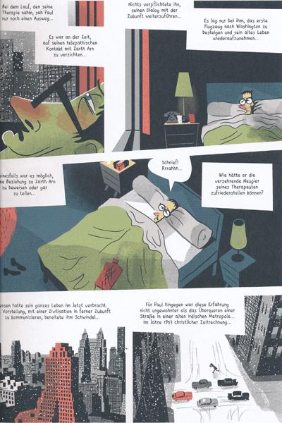 Leseprobe 2 von Das Imperium des Atoms [comicroman], Einzelband -
