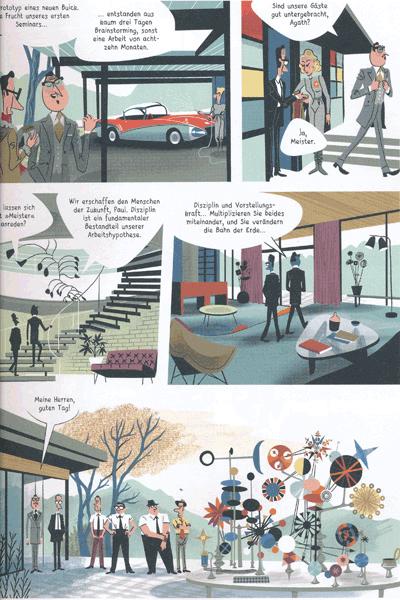 Leseprobe 4 von Das Imperium des Atoms [comicroman], Einzelband -