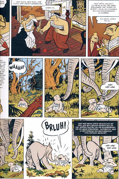 Leseprobe 4 von Freddy Lombard Gesamtausgabe, Einzelband -