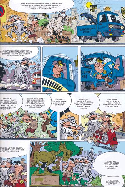Leseprobe 3 von Clever & Smart Sonder, Band 5 - Don Clever - Ritter von der komischen Gestalt