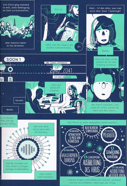 Leseprobe 1 von SOON [comic], Einzelband - Zukunftsvision