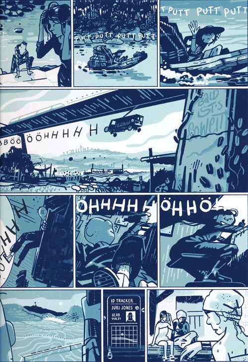 Leseprobe 4 von SOON [comic], Einzelband - Zukunftsvision