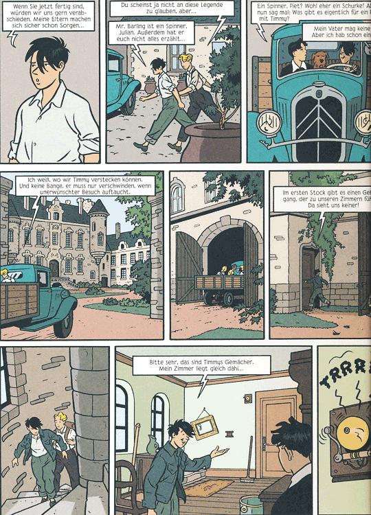 Leseprobe 1 von FÜNF FREUNDE [comic], Band 4 - Fünf Freunde auf Schmugglerjagd