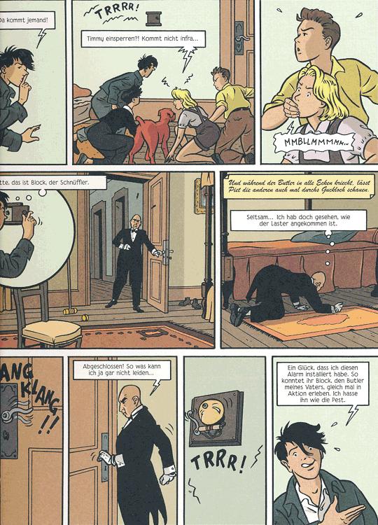 Leseprobe 2 von FÜNF FREUNDE [comic], Band 4 - Fünf Freunde auf Schmugglerjagd