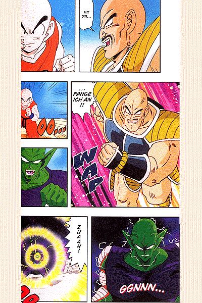 Leseprobe von Dragon Ball Z - Die Saiyajin, Band 3 - Das Spiel der Saiyajin, . . .