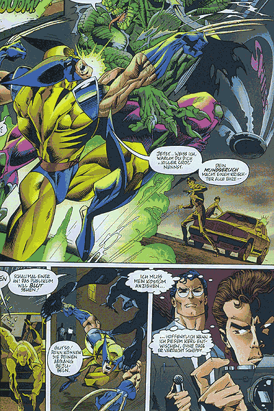 Leseprobe von DC vs. Marvel, Band 2 - Der Kampf des Jahrhunderts