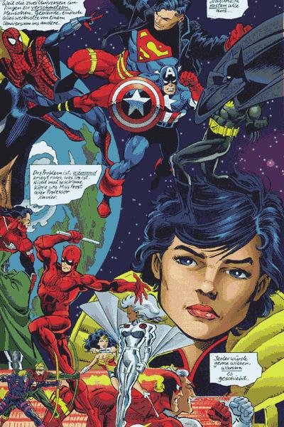 Leseprobe von DC vs. Marvel, Band 3 - Der Kampf des Jahrhunderts
