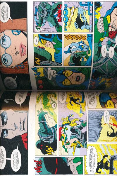 Leseprobe 1 von DER TOD VON SUPERMAN lim. Hardcover, Band 1 - Der Tag an dem Superman starb
