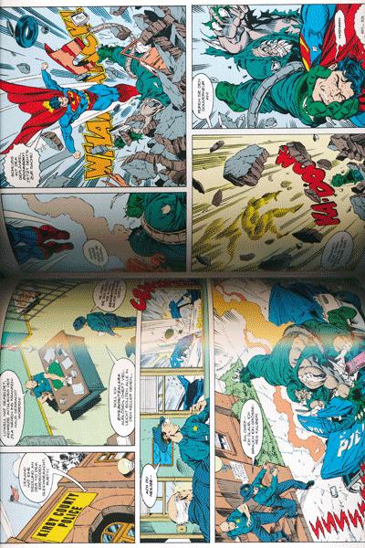 Leseprobe 2 von DER TOD VON SUPERMAN lim. Hardcover, Band 1 - Der Tag an dem Superman starb