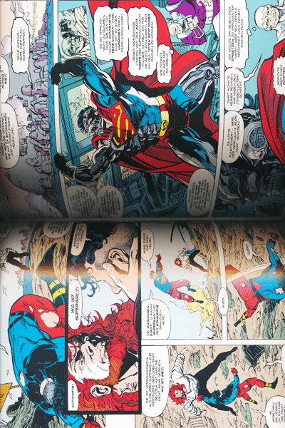Leseprobe 1 von DER TOD VON SUPERMAN lim. Hardcover, Band 4 - Die Rückkehr von Superman