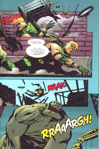 Leseprobe von Green Arrow, Sammelband 1 - Das Leben nach dem Tod